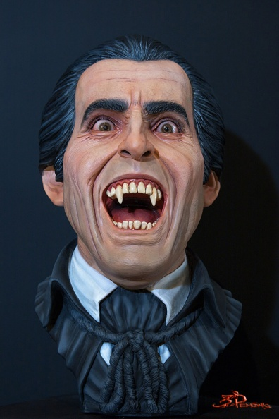 Life Size Dracula Bust
