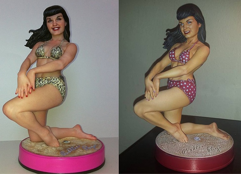 Beach Bettie Page