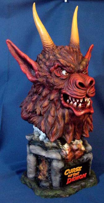 Curse of the Demon Bust