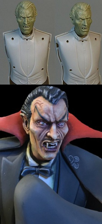 Dracula Relacement Head